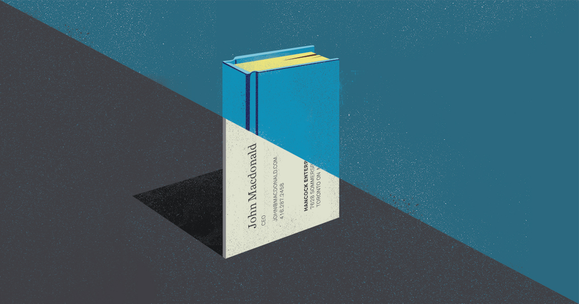 Should your next business card be a book? - Parcel Design